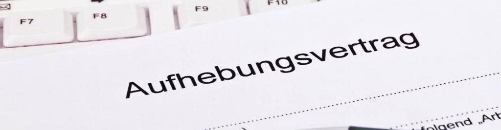 Rechtsanwalt für Aufhebungsvertrag in Hamburg und Bremen